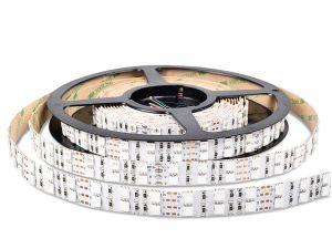 5050 RGB LED Strip, DC12V, 120LEDs/m, 5M