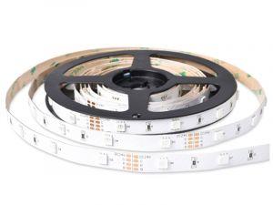 5050 Color Chaning RGB LED Strip, DC12V/24V, 30LEDs/m, 5M