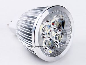 5 Watt High Power  MR16 (GX5.3) LED Replacement Bulb