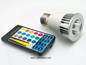 5W E27 Color Changing LED Lighting Bulb, RGB LED, Mood Lighting