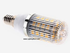 5Watt E14 LED Corn Light Bulb with 36 SMD5050 LEDs
