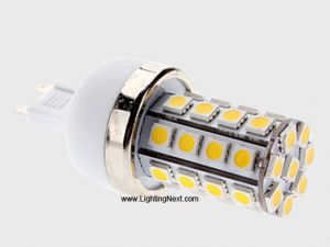 6W G9 High Power LED Replacement Bulb with 36 SMD 5050 LEDs