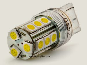 7440/7443 LED Replacement Bulb, 18 SMD5050 LEDs Tower (2 Pack)