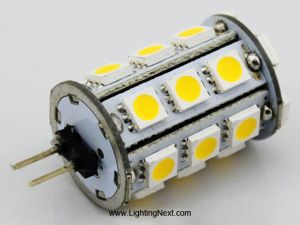 Back Pin G4 Tower, 24 Tri-Chip 5050 SMD LEDs, 12V DC