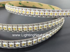 Bright 144 LED/m SK6812 Digital RGBW LED Strip, 1m, 5VDC