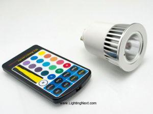 Color Changing GU10 5W LED Light Bulb, RGB LED, Mood Lighting
