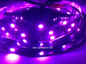 Color Changing RGB SMD 5050 Fexible LED Strips, 30LEDs/M, 5M/Roll, 12 VDC