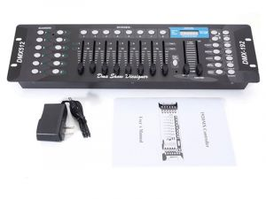 DMX 512 192 Channel Operator Console Controller for Stage DJ Party Lighting Lamp - 240 Scenes,6 Chaser,12 Fix.