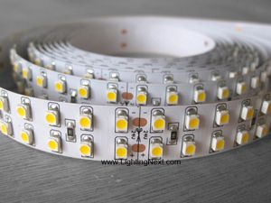 Double-Row SMD 3528 LED Strips, 240LEDs/m, 5m/roll, 12 VDC