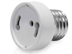 E26/E27 to GU24  Socket Adapter Converter