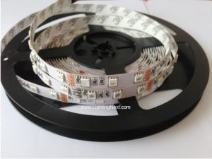 High Density 850nm Infrared LED Strip Light, 12V DC, 300 SMD5050 LEDs/roll, 5m/roll