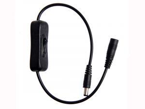 Inline Power Switch – 2.1mm Barrel Plug