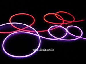 Jacket Polymer Side Glow Fiber Optic
