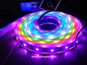 LPD6803 Digital Addressable RGB LED Strips, 12VDC, 5M, 10 LPD6803 IC/M, 30 SMD5050/M