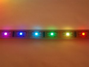 LPD8806 Digital Addressable RGB LED Strip, IP67 Waterproof, 5M, 32 LPD8806 IC/M, 16 SMD5050/M