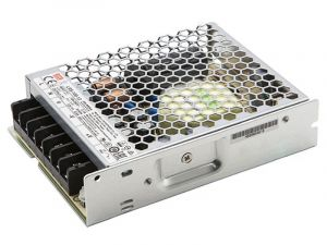 Mean Well LED Switching Power Supply - LRS Series 100W Enclosed Power Supply - 12V DC