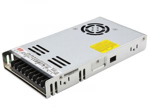 Mean Well LED Switching Power Supply - LRS Series 350W Enclosed Power Supply - 24V DC
