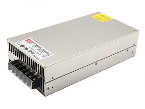 Mean Well LED Switching Power Supply - SE Series 600W Enclosed Power Supply - 12V DC