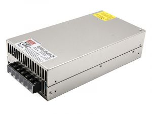 Mean Well LED Switching Power Supply - SE Series 600W Enclosed Power Supply - 24V DC