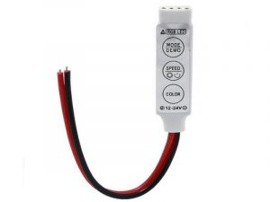 Mini RGB LED Controller - Dynamic Color-Changing Modes - 4 Amps/Chan