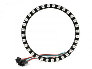 NeoPixel Ring 32 LEDs - Smart SK6812 RGB 5050 LED with Integrated Drivers