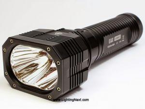 Nitecore EAX Hammer 2*CREE XM-L2 2000 lumen LED Flashlight, 8 x AA