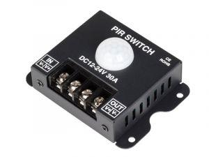 PIR Motion Sensor Switch - 12-24 VDC - 30 Amps