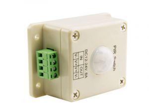 PIR Motion Sensor Switch - 12-24 VDC - 8 Amps