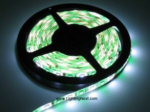 RGB + White SMD5050 Flexible LED Light Strip,12V/24VDC Available