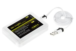 Smartphone or Tablet Wi-Fi LED Controller Hub