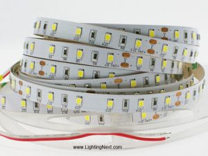 SMD2835 Fexible LED Lighting Strips, 60LEDs/m, 5m/roll, 12 VDC, 6Amp/roll