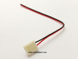 Solderless Power Connector for 8MM/10MM Single Color LED Strips