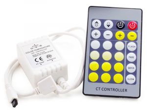 Tunable White LED Controller w/ Wireless RF Remote - 3 Amps/Channel