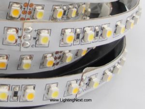 Variable Color Temperature SMD3528 LED Flexible Light Strip, 120LEDs/m