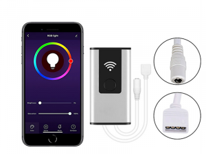 Wi-Fi RGB LED Controller - Alexa/Google Assistant/Smartphone Compatible - 5 Amps/Channel