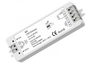 Wireless LED 1 Channel 8A LED Dimmer Controller