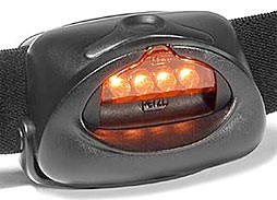 LEDs on headlamp